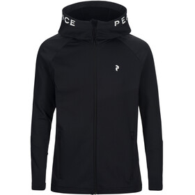 Peak Performance M's Rider Zip Hood Black